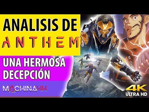 ANTHEM ANALISIS : UNA HERMOSA DECEPCIÓN | PS4 PRO XBOX ONE X Y PC REVIEW
