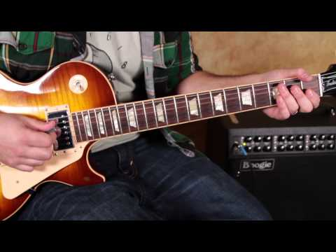 Led Zeppelin - Nobody's Fault but Mine - Rock and Blues Guitar Lesson - Les Paul -  how to play
