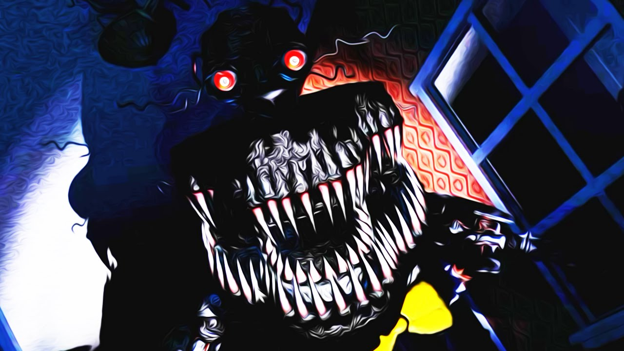 Five Nights at Freddy's 4 ~ Night 7 NIGHTMARE MODE COMPLETE