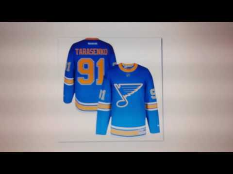 St. Louis Blues 2017 WC Jersey News/NHL Centennial Patch Rant