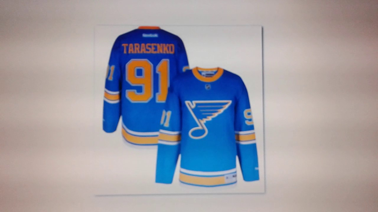 St. Louis Blues 2017 WC Jersey News NHL Centennial Patch Rant - YouTube 08054da2b