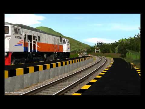 Kereta Api Di Lebak Jero (Trainz Simulator Add Ons Indonesia) by Deryan