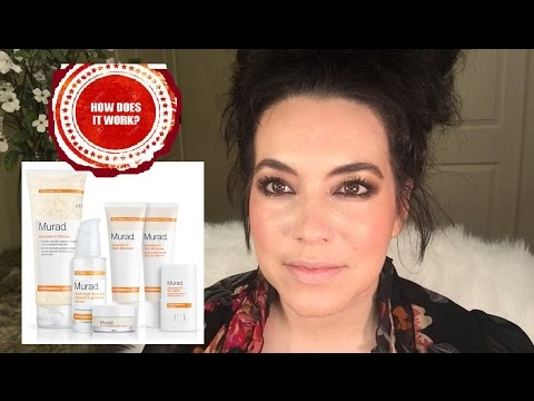 Murad Rapid Age Spot kit, DOES IT WORK!!?? 2 MONTH Review! Age Spot Remover Routine