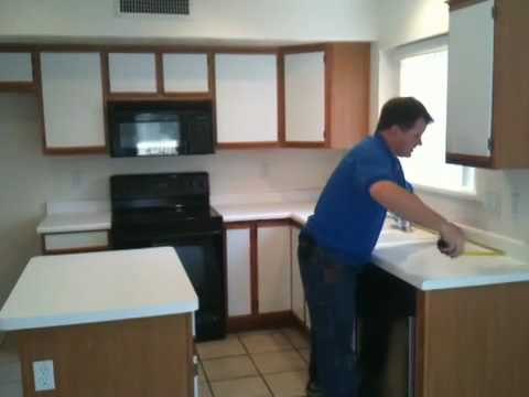How To Measure For Kitchen Cabinets   YouTube
