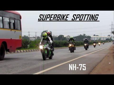 SUPERBIKE SPOTTING|MORNING RIDE|NH 75