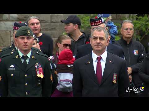 BC Afghanistan Memorial Dedication Ceremony