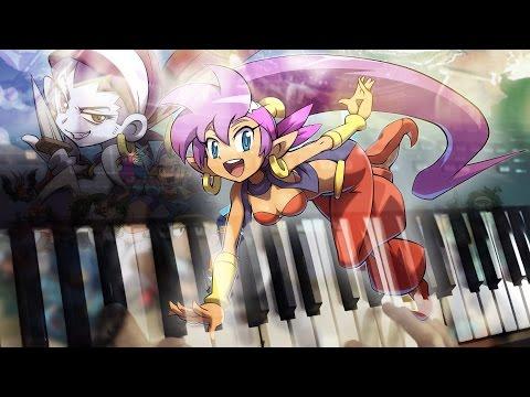Burning Labyrinths-Shantae