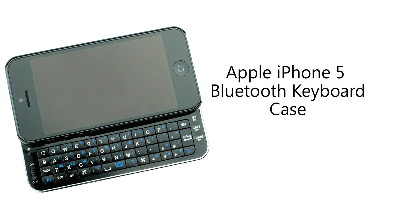 Bluetooth Iphone Keyboard Case
