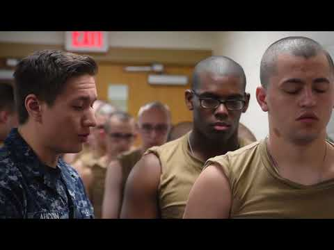 Recruit Training Command Immunizations and Blood Draw