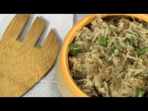 Batatyacha Kees (बटाट्याचा किस) Recipe | Aloo ki Falahari/Vrat Recipe By Archana | #NavratriSpecial