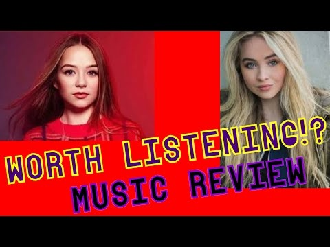 MUSIC REVIEW - Connie Talbot AND Sabrina Carpenter - POP RULES!