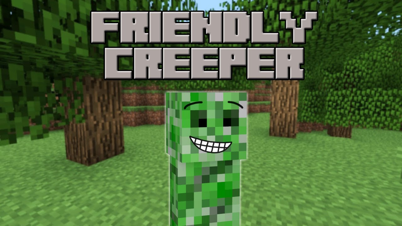 Friendly creeper minecraft machinima youtube voltagebd Image collections