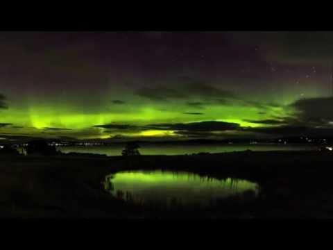 Aurora Australis Tasmania timelapse compile