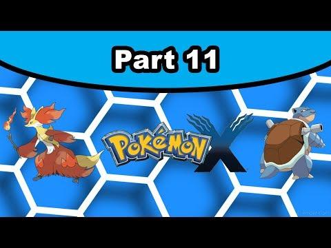 Pokemon X [11] - Gym Leader Ramos (Coumarine City)