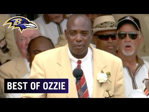 Ozzie Newsome's Full Hall of Fame Speech - Best of Ozzie ...