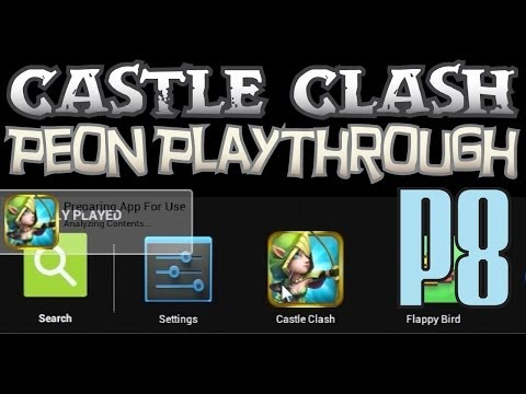 Castle Clash Peon 8: Play On PC Or Mac - Peon Playthrough 8