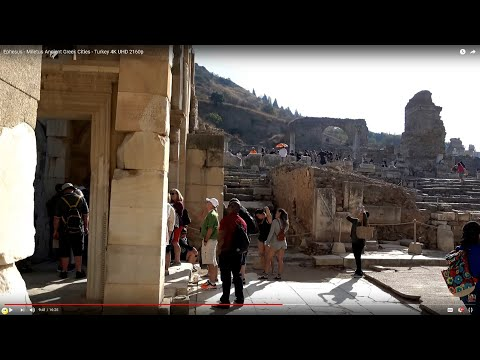 Ephesus - Miletus Ancient Greek Cities - Turkey 4K UHD 2160p