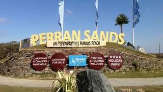 Perran Sands, a quick tour.