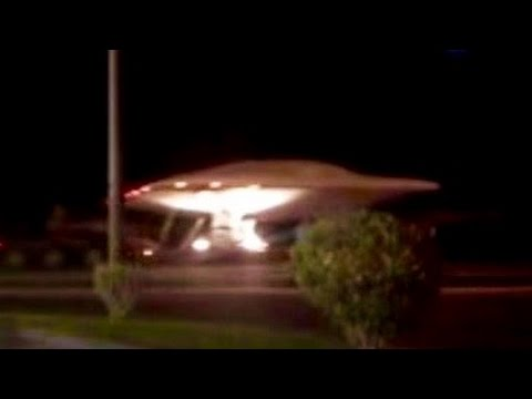 Area 51 Footage Shows UFO Desert Transport