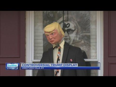 Trump Hanging Display