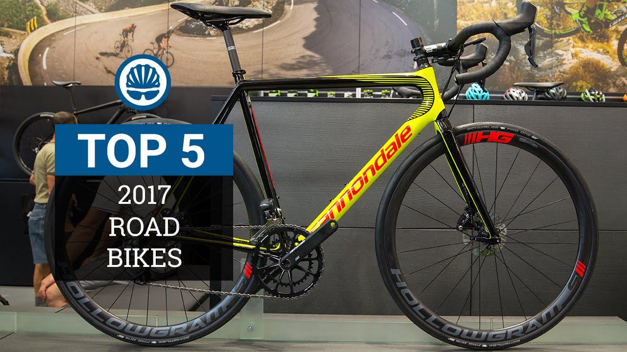Top 5 - Road Bikes 2017 - YouTube 0f3721168