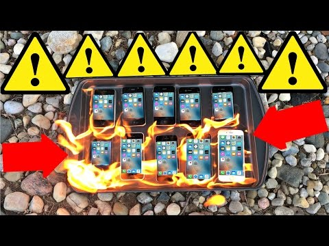 Which iPhone is the most FIREPROOF? A Fireproof Test and Review of Apple's iPhones and Giveaway!