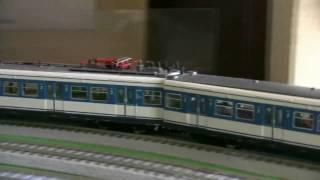鉄道模型 月影急行 031 DB ET420 と BLS Ae 8/8