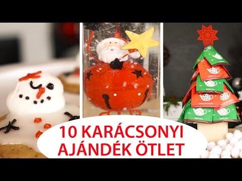 e00b3cf863 10+10 Karácsonyi Ajándék Ötlet DIY - INSPIRACIOK.HU | Csorba Anita - YouTube