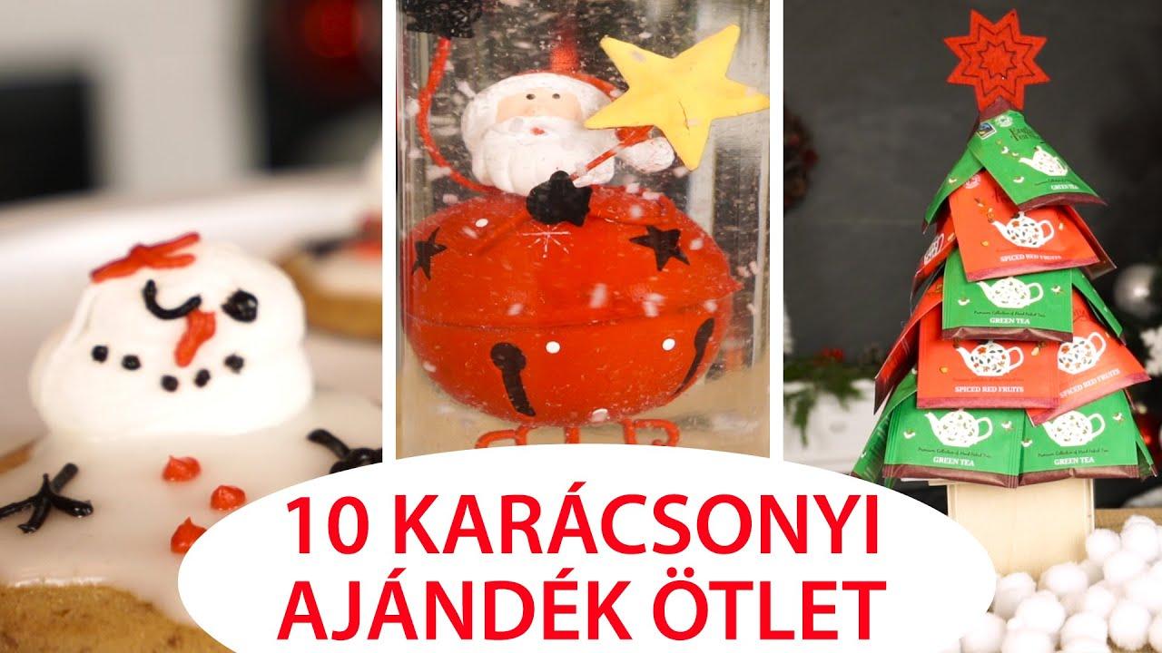3377027188 10+10 Karácsonyi Ajándék Ötlet DIY - INSPIRACIOK.HU | Csorba Anita ...