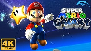 Super Mario Galaxy - Gameplay Wii 4K 2160p (Dolphin 5.0)