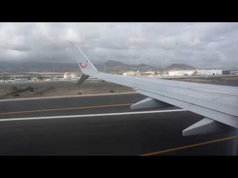 Flight Las Palmas to Basel Tuifly x3 2205