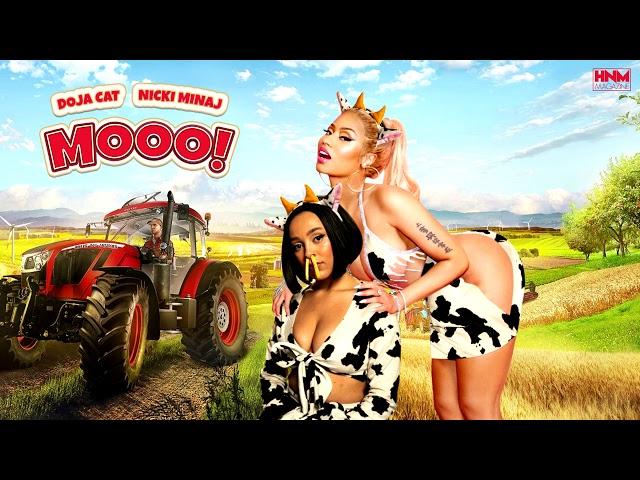 Doja Cat, Nicki Minaj - Mooo! [MASHUP]