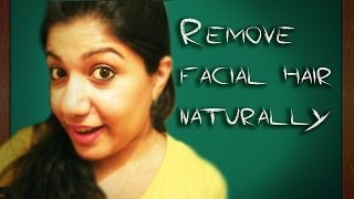 Remove facial hair in 10 min naturally !! quick and easy Thumbnail