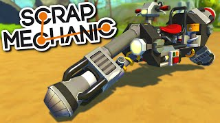 Scrap Mechanic CREATIONS - The BEST BIKES, MOTORCYCLES and HOVERBIKES!