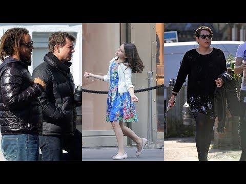 Tom Cruise's Kids -2018 {Daughters Suri Cruise & Isabella Cruise | Son Connor Cruise}
