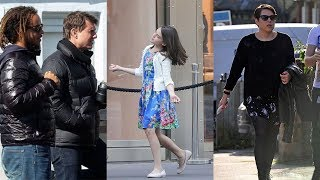 Tom Cruise's Kids -2018 {Daughters Suri Cruise & Isabella Cruise | Son Connor Cruise}