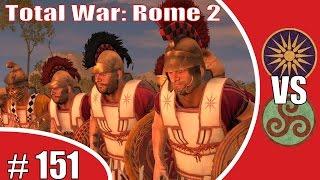 Total War: Rome 2 Online Battle (Deutsch|German) Makedonien gegen die Boier # 151