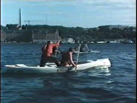 1st FIP International Concrete Canoe Race in Stockholm, Sweden on June 8, 1982
