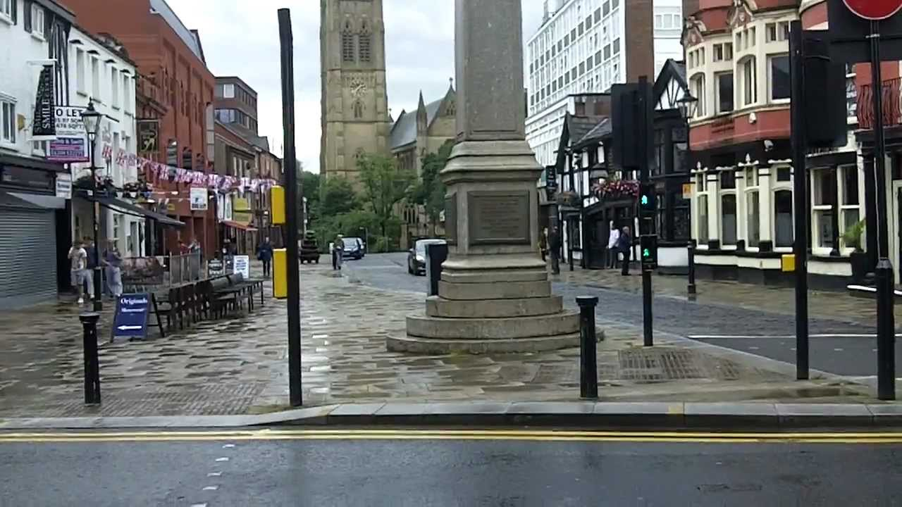 Town Centre, Bolton, Lancashire. - YouTube