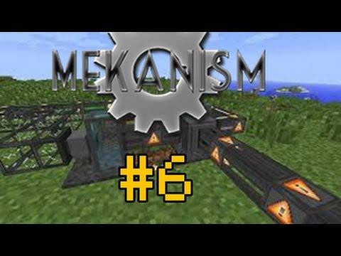 MineCraft _Обзор мода_Mekanism 1.7.10 #6 Атомный разборщик