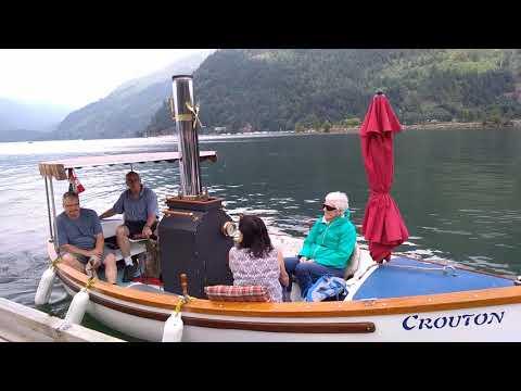 🇨🇦 Steamboat on Harrison Lake, Harrison Hot Springs, British Columbia, Canada