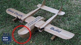 Flite Test Sea Duck Build and Immediate Crash