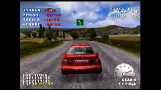 Test Drive V-Rally Gameplay Sega Dreamcast