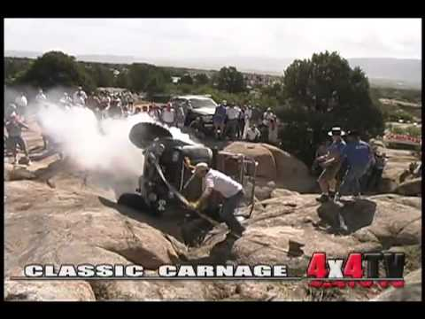 4x4TV Extreme Classic Rockcrawling Moments & Crashes Montage #1