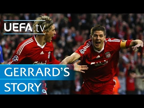 Steven Gerrard's European journey with Liverpool