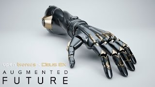 Open Bionics EidosMontral and Razer are working together to bring Deus Ex inspired augmentations to life The three companies will partner up to help