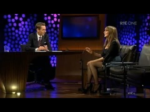 M.I.L.F Carol Vorderman RARE Interview In Short Black Dress. 'Father Had Affair With 16 Ye