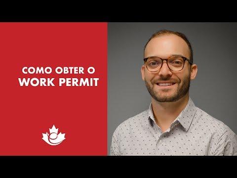 COMO OBTER UM WORK PERMIT