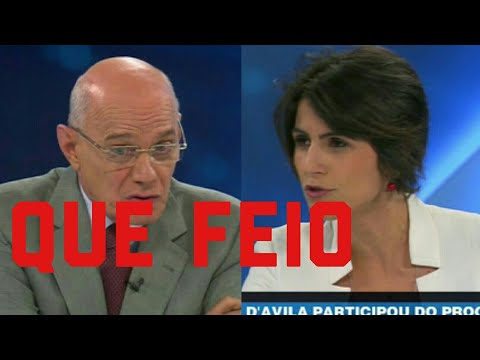 Manuela d'Ávila passa VERGONHA ao vivo ao defender LULA