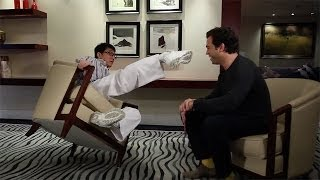 Ogilvydo talks exclusively to martial arts legend, Jackie Chan